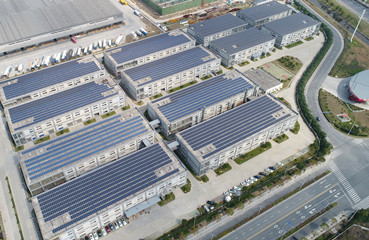 1014.3KW Rooftop PV Power Station in Shaoxing