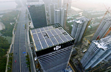 145KW Rooftop-Building Integrated PV Project in Shaoxing
